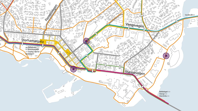 IC G Hamar overordnet trafikk