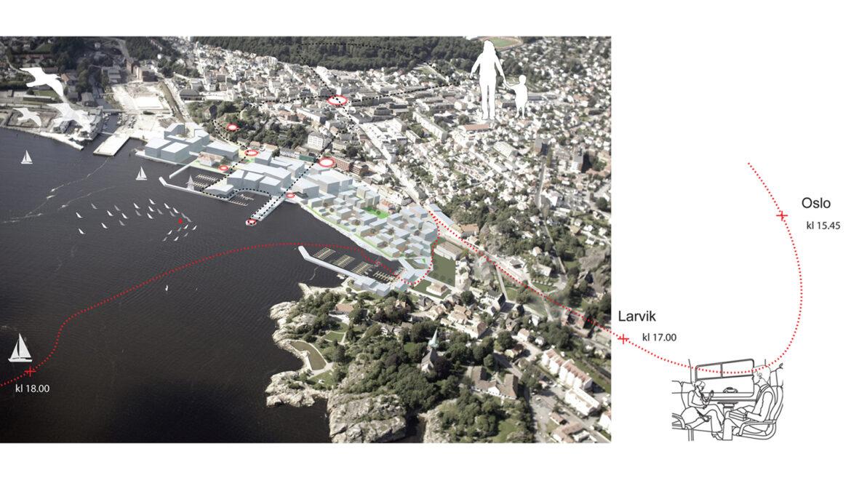 Byutvikling Larvik Indre Havn – idékonkurranse
