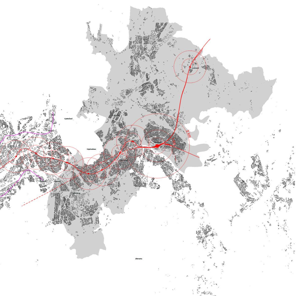 TBY infrastruktur bane